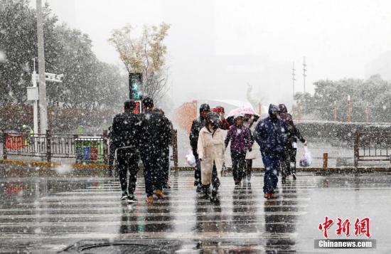 中东部地区将有大范围雨雪过程黄淮南部等地先后有降雨